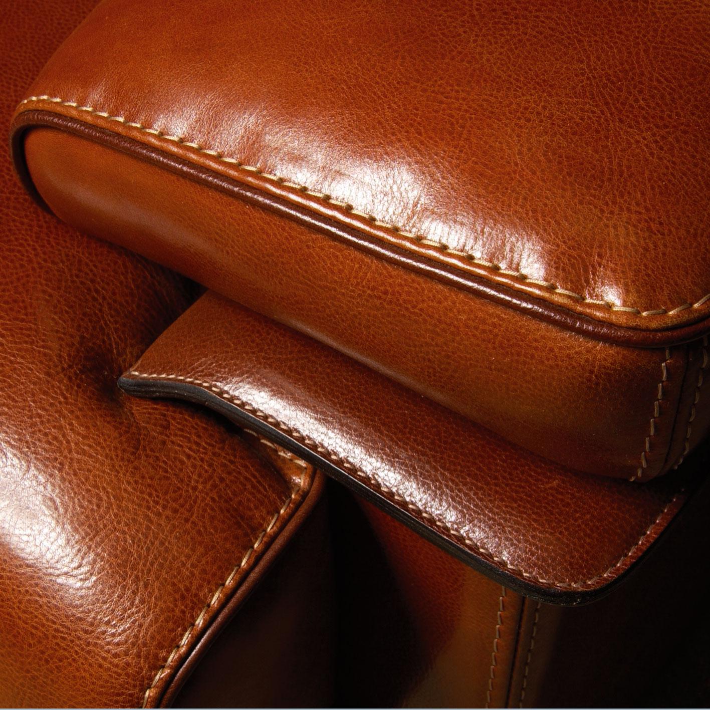 Awesome divano in cuoio ideas for Pelli per arredamento